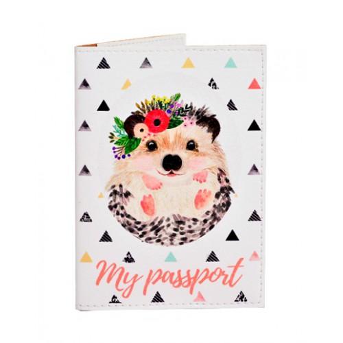 Покупка  Обложка для паспорта Ежик в  Интернет-магазин Zelenaya Vorona™