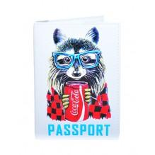Обложка для паспорта Кока-Кола