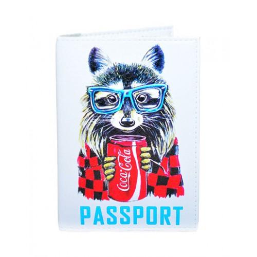 Покупка  Обложка для паспорта Кока-Кола в  Интернет-магазин Zelenaya Vorona™