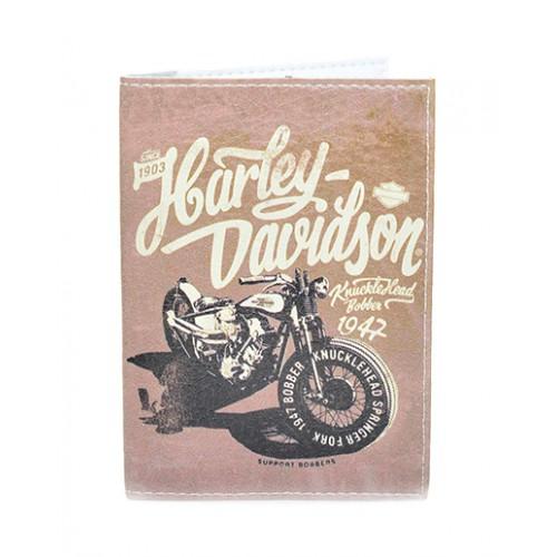 Покупка  Обложка для паспорта Harley Davidson в  Интернет-магазин Zelenaya Vorona™