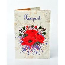 Обложка для паспорта Маки