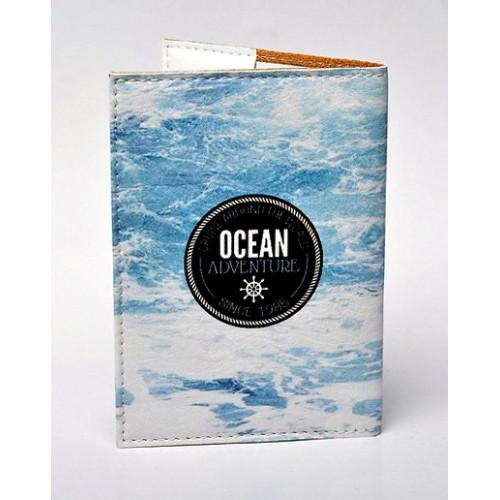 Обложка для паспорта Морской тематики  в  Интернет-магазин Zelenaya Vorona™ 1