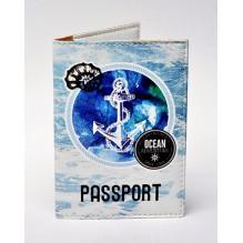 Обложка для паспорта Морской тематики