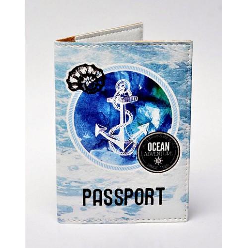 Покупка  Обложка для паспорта Морской тематики в  Интернет-магазин Zelenaya Vorona™
