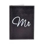Обложка для паспорта Mr&Mrs