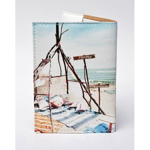 Обложка для паспорта Пикник  в  Интернет-магазин Zelenaya Vorona™ 1