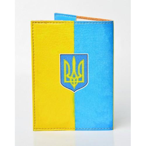 Обложка для паспорта Вільна Україна  в  Интернет-магазин Zelenaya Vorona™ 1