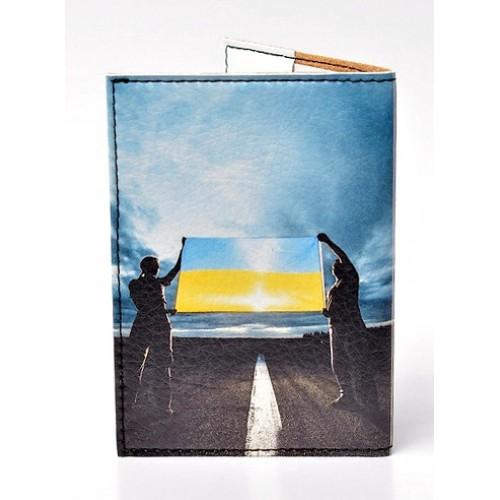 Обложка для паспорта Прапор України  в  Интернет-магазин Zelenaya Vorona™ 1