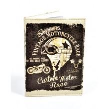 Обложка для водительских прав Vintage Motorcycle