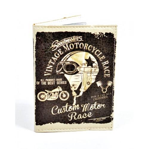 Обложка для водительских прав Vintage Motorcycle  в  Интернет-магазин Zelenaya Vorona™ 1