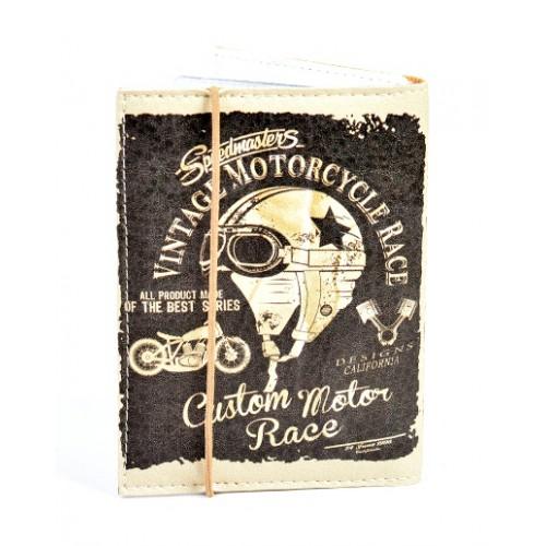 Покупка  Обложка для водительских прав Vintage Motorcycle в  Интернет-магазин Zelenaya Vorona™
