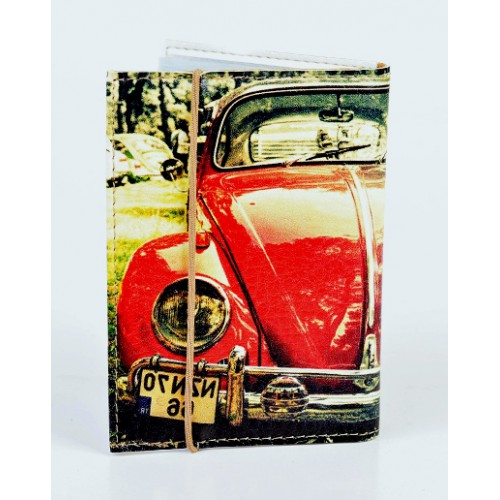Обложка для водительских прав Фольксваген Битл  в  Интернет-магазин Zelenaya Vorona™ 1