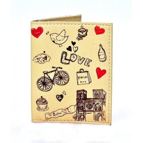 Покупка  Обложка на ID паспорт Lovely. Бежевый в  Интернет-магазин Zelenaya Vorona™