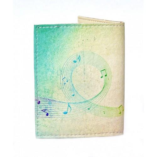Обложка на ID паспорт Music  в  Интернет-магазин Zelenaya Vorona™ 1