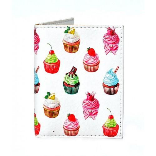 Покупка  Обложка на ID паспорт Cake в  Интернет-магазин Zelenaya Vorona™