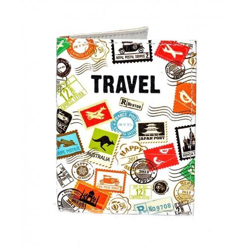Покупка  Обложка на ID паспорт Travel марки в  Интернет-магазин Zelenaya Vorona™