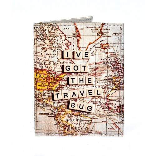 Покупка  Обложка на ID паспорт Карта мира в  Интернет-магазин Zelenaya Vorona™