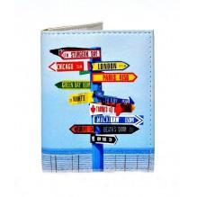Обложка на ID паспорт Нулевой километр