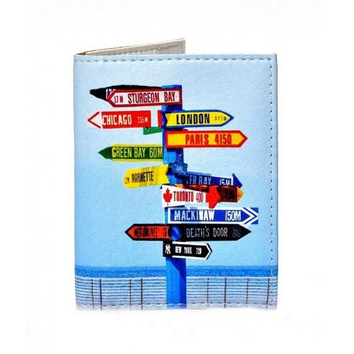 Покупка  Обложка на ID паспорт Нулевой километр в  Интернет-магазин Zelenaya Vorona™