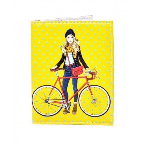 Покупка  Обложка на ID паспорт Городские прогулки в  Интернет-магазин Zelenaya Vorona™