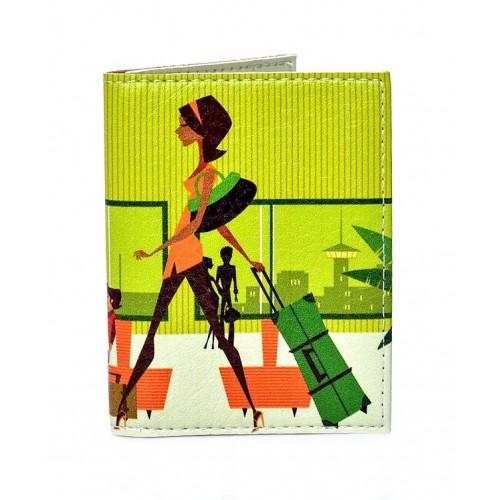 Покупка  Обложка на ID паспорт Lady в  Интернет-магазин Zelenaya Vorona™