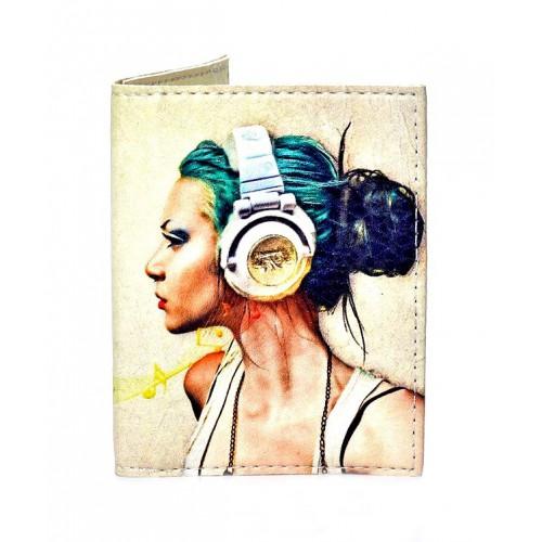 Покупка  Обложка на ID паспорт Music в  Интернет-магазин Zelenaya Vorona™