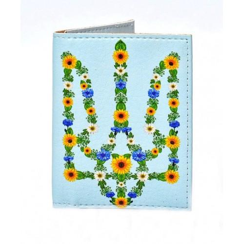 Покупка  Обложка на ID паспорт Цветочный Герб в  Интернет-магазин Zelenaya Vorona™