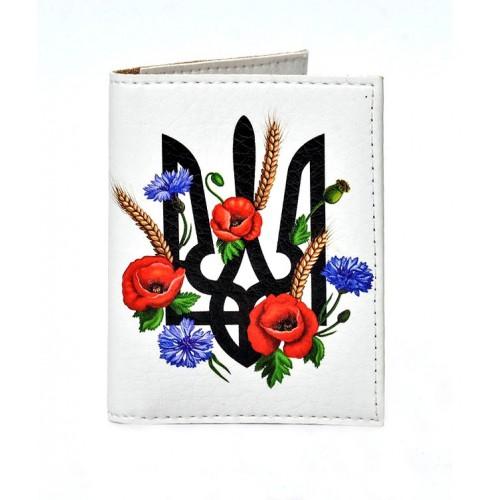 Покупка  Обложка на ID паспорт Герб и маки в  Интернет-магазин Zelenaya Vorona™
