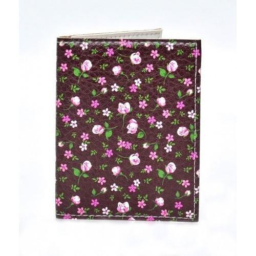 Покупка  Обложка на ID паспорт Цветы в  Интернет-магазин Zelenaya Vorona™