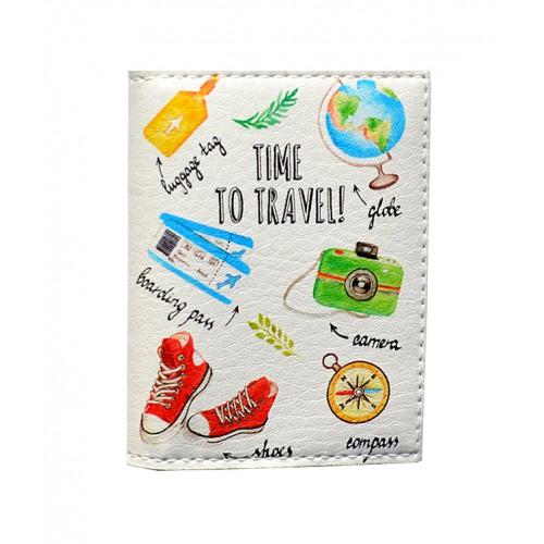 Покупка  Обложка на ID паспорт Путешественнику в  Интернет-магазин Zelenaya Vorona™