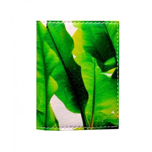 Покупка  Обложка на ID паспорт Банановые листья в  Интернет-магазин Zelenaya Vorona™
