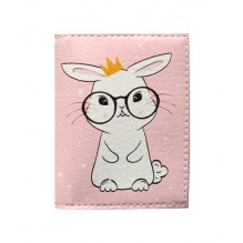 Обложка на ID паспорт с кроликом