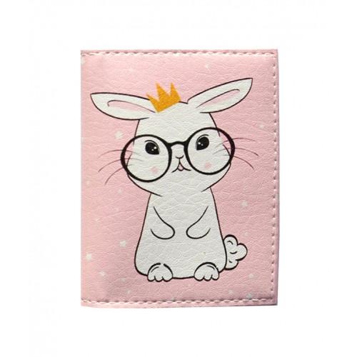 Покупка  Обложка на ID паспорт с кроликом в  Интернет-магазин Zelenaya Vorona™