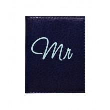 Обложка на ID паспорт для него Mr&Mrs