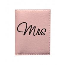 Обложка на ID паспорт для нее Mrs&Mr