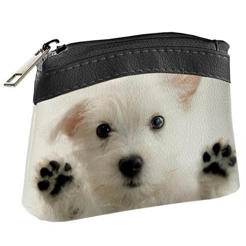 Покупка  Детский кошелек KID Белый щенок в  Интернет-магазин Zelenaya Vorona™