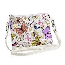 Сумка для девочки Little fairy Бабочки разноцветные