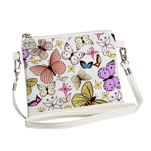 Покупка  Сумка для девочки Little fairy Бабочки разноцветные в  Интернет-магазин Zelenaya Vorona™