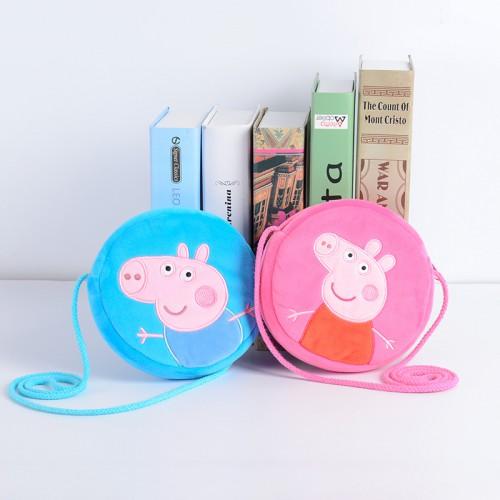 Покупка  Детская сумочка Свинка Пеппа (розовый) в  Интернет-магазин Zelenaya Vorona™