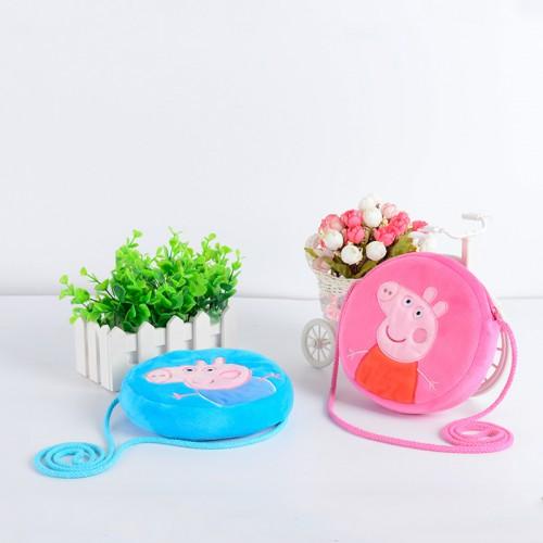 Детская сумочка Свинка Пеппа (розовый)  в  Интернет-магазин Zelenaya Vorona™ 1