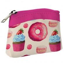 Детский кошелек KID Розовые пироженки