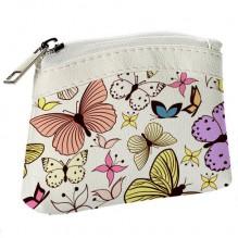 Детский кошелек KID Бабочки разноцветные