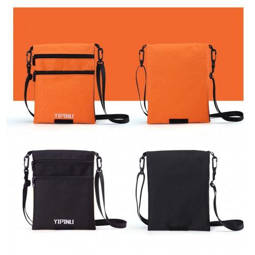 Дорожный кошелек на шею YIPINU. Оранжевый/Черный  в  Интернет-магазин Zelenaya Vorona™ 5