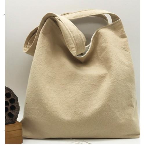 Летняя текстильная сумка. Светло-бежевая  в  Интернет-магазин Zelenaya Vorona™ 1