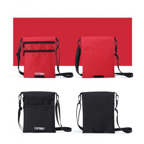 Дорожный кошелек на шею YIPINU. Красный/Черный  в  Интернет-магазин Zelenaya Vorona™ 5