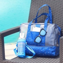Пляжная сумка Weekeight Звезды. Темно-синий