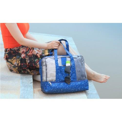 Пляжная сумка Weekeight Звезды. Темно-синий  в  Интернет-магазин Zelenaya Vorona™ 3