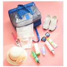 Пляжная сумка Weekeight. Темно-синий звезды