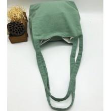 Летняя текстильная сумка. Светло-зеленая