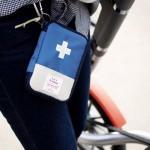 Мини аптечка органайзер для путешествий. Синяя
